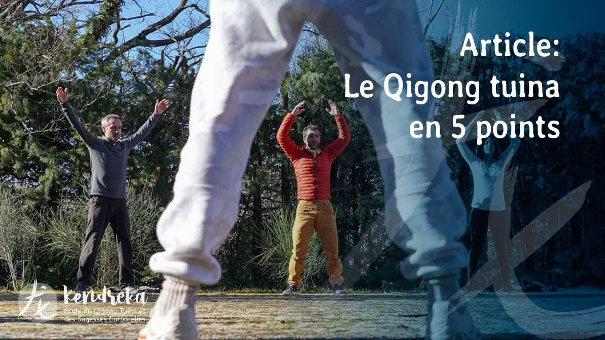 Article Qigong Tuina en 5 points