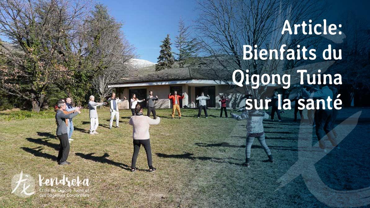 Article sur les effets du Qigong sur la santé