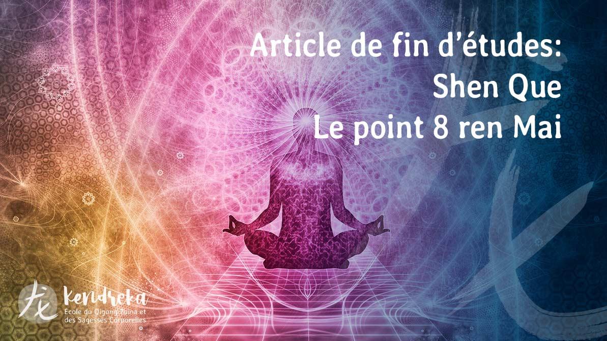 Article Shen Que Médecine Chinoise