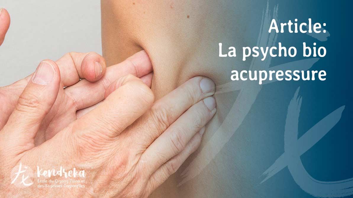 Article Psycho Bio Acupressure